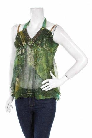 Γυναικείο αμάνικο μπλουζάκι Artigli, Μέγεθος S, Χρώμα Πράσινο, Τιμή 4,49€