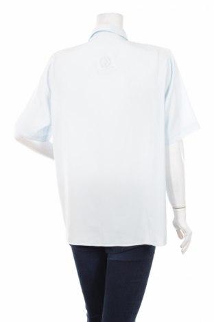 Γυναικείο πουκάμισο, Μέγεθος L, Χρώμα Μπλέ, 100% πολυεστέρας, Τιμή 10,31€