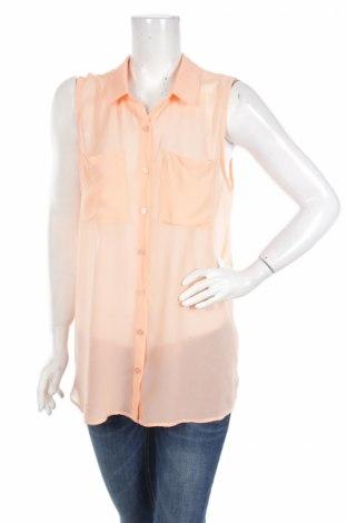 Дамска риза H&M Divided, Размер L, Цвят Оранжев, Полиестер, Цена 4,50лв.