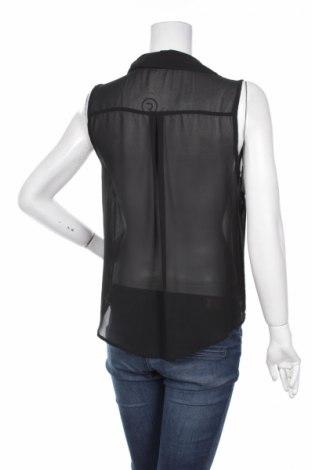 Γυναικείο πουκάμισο Pieces, Μέγεθος S, Χρώμα Μαύρο, Τιμή 11,13€