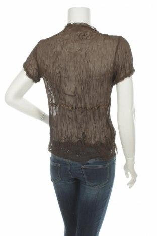Γυναικείο πουκάμισο Zazar, Μέγεθος M, Χρώμα Καφέ, Πολυεστέρας, Τιμή 9,90€