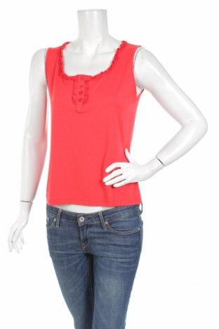 Tricou de damă Carla Ferroni, Mărime M, Culoare Roșu, 94% viscoză, 6% elastan, Preț 16,63 Lei