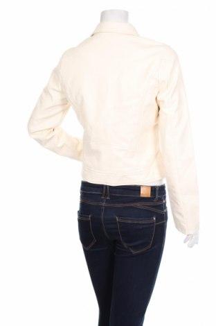 Γυναικείο δερμάτινο μπουφάν Even&Odd, Μέγεθος M, Χρώμα Εκρού, Δερματίνη, Τιμή 28,95€