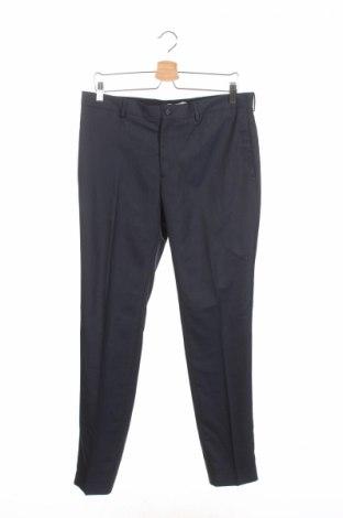 Мъжки панталон Jack & Jones, Размер M, Цвят Син, 49% полиестер, 48% вискоза, 3% еластан, Цена 19,50лв.