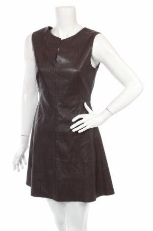Кожена рокля Zara