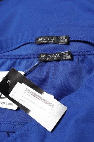 Дамски комплект Nasty Gal, Размер L, Цвят Син, 95% полиестер, 5% еластан, Цена 40,02лв.