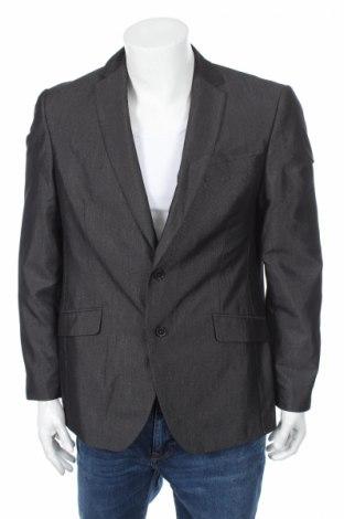 Мъжко сако Angelo Litrico, Размер L, Цвят Сив, 80% полиестер, 20% вискоза, Цена 3,00лв.