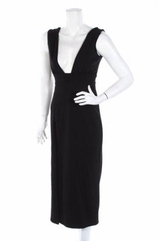 Šaty  Nasty Gal, Veľkosť M, Farba Čierna, 95% polyester, 5% elastan, Cena  9,01€