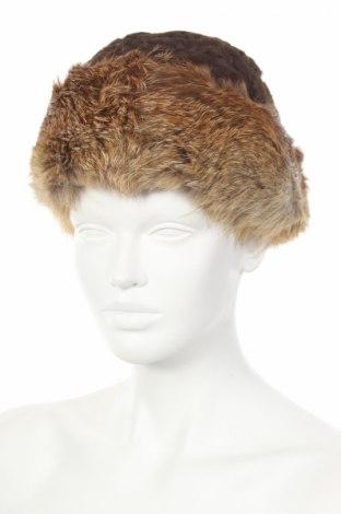 Čepice , Barva Hnědá, Astrakhan, pravá kožešina , Cena  624,00Kč