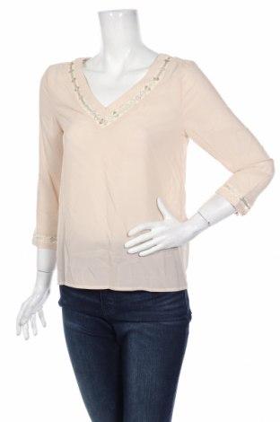 Дамска блуза Axara, Размер S, Цвят Бежов, Полиестер, Цена 18,86лв.