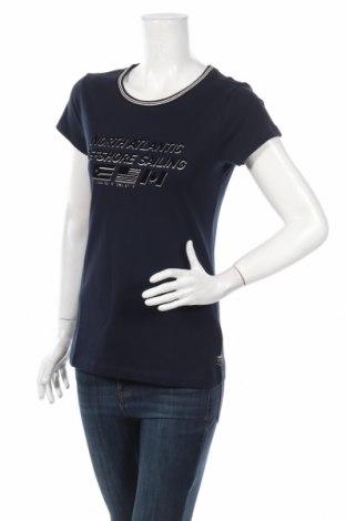Дамска тениска Gaastra, Размер M, Цвят Син, Памук, Цена 51,00лв.