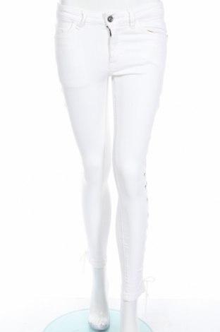 Дамски дънки Urban Classics, Размер XS, Цвят Бял, 98% памук, 2% еластан, Цена 14,26лв.