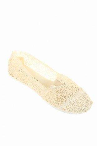 Дамски обувки Coco Perla, Размер 37, Цвят Бежов, Текстил, Цена 29,90лв.