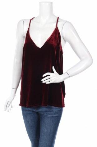 Dámske tielko  Abercrombie & Fitch, Veľkosť L, Farba Červená, 90% polyester, 10% elastan, Cena  12,45€