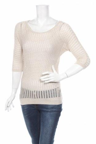Дамски пуловер Express, Размер XS, Цвят Бежов, 74% вискоза, 17% полиестер, 9% метални нишки, Цена 7,36лв.