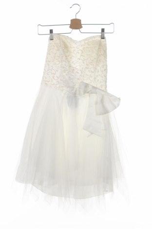 Detské šaty , Veľkosť 10-11y/ 146-152 cm, Farba Biela, 95% polyester, 5% bavlna, Cena  20,80€