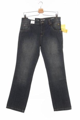 Детски дънки Tom Tailor, Размер 12-13y/ 158-164 см, Цвят Син, Памук, Цена 25,03лв.