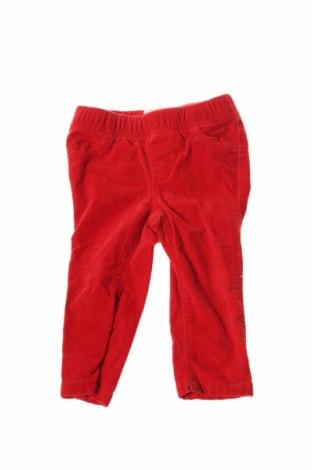 Детски панталон Old Navy, Размер 12-18m/ 80-86 см, Цвят Червен, Цена 4,00лв.