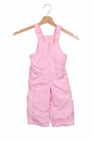 Dětská kombinéza pro zimní sporty  London Fog, Rozměr 9-12m/ 74-80 cm, Barva Růžová, Polyester, Cena  640,00Kč