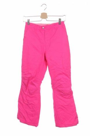 Детски панталон за зимни спортове Faded Glory, Размер 11-12y/ 152-158 см, Цвят Розов, Полиестер, Цена 10,50лв.