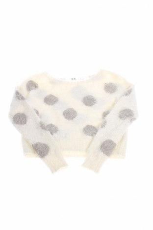 Pulover de copii Aeropostale, Mărime 6-7y/ 122-128 cm, Culoare Alb, 58%acril, 27% poliamidă, 5% alte țesuturi, Preț 22,11 Lei