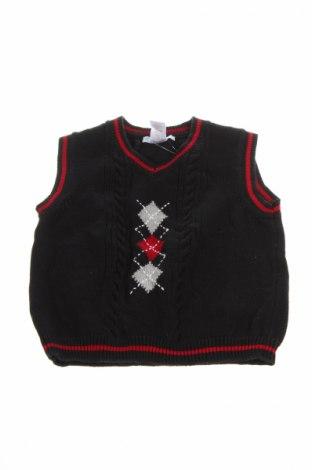 Детски пуловер Janie And Jack, Размер 4-5y/ 110-116 см, Цвят Черен, Памук, Цена 6,50лв.