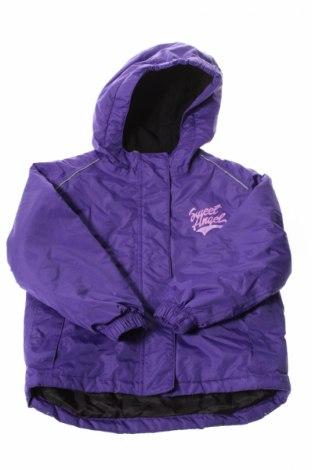 Детско яке за зимни спортове Lupilu, Размер 2-3y/ 98-104 см, Цвят Лилав, Полиестер, Цена 16,45лв.