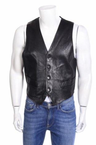 Pánska kožená vesta  Emporio