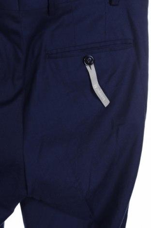 Мъжки панталон C&A, Размер S, Цвят Син, 80% полиестер, 18% вискоза, 2% еластан, Цена 10,58лв.