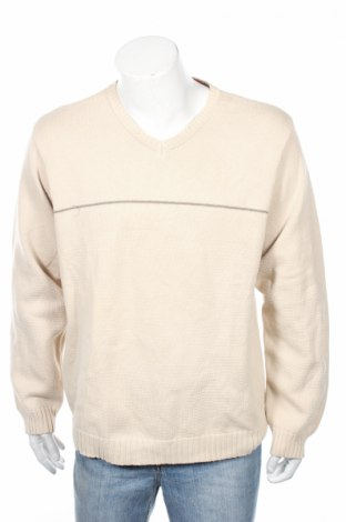 Мъжки пуловер Izod, Размер L, Цвят Екрю, Цена 32,00лв.