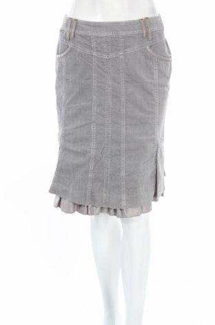 Φούστα Biba, Μέγεθος S, Χρώμα Γκρί, 98% βαμβάκι, 2% ελαστάνη, Τιμή 8,35€
