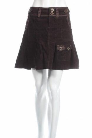 Пола Julia Bergovich, Размер M, Цвят Кафяв, 98% памук, 2% еластан, Цена 6,40лв.