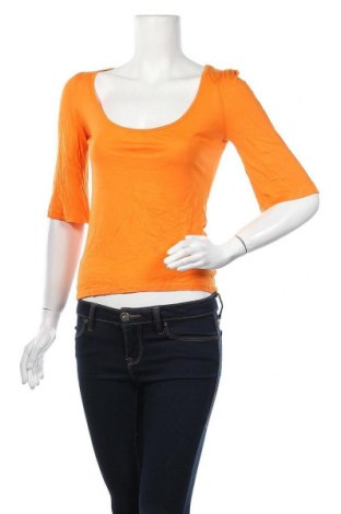 Дамска блуза La Redoute, Размер XS, Цвят Оранжев, Цена 8,57лв.