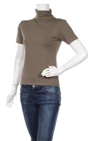 Дамска блуза Akropol, Размер S, Цвят Зелен, 95% памук, 5% еластан, Цена 10,71лв.