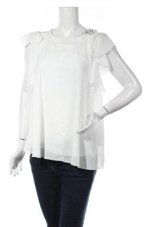 Γυναικεία μπλούζα Gaudi, Μέγεθος L, Χρώμα Λευκό, 100% πολυεστέρας, Τιμή 32,58€