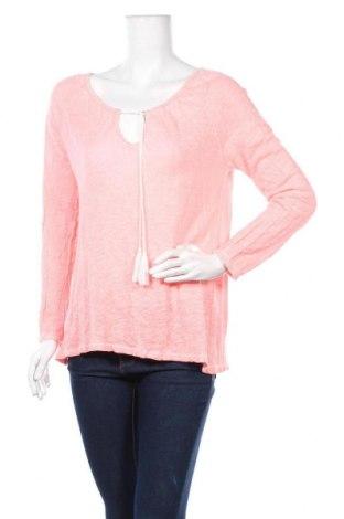 Дамска блуза Grace, Размер S, Цвят Розов, 50% лен, 50% памук, Цена 9,24лв.