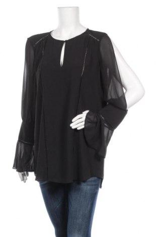 Γυναικεία μπλούζα Haute Hippie, Μέγεθος L, Χρώμα Μαύρο, Πολυεστέρας, Τιμή 13,32€