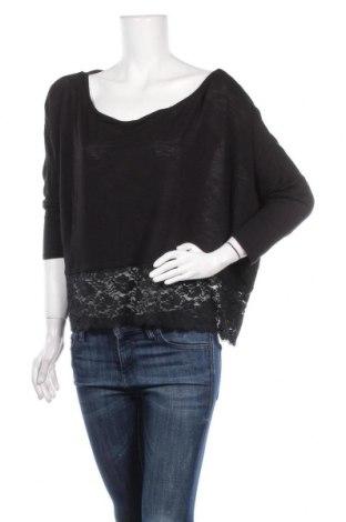 Γυναικεία μπλούζα KappAhl, Μέγεθος L, Χρώμα Μαύρο, Τιμή 9,25€