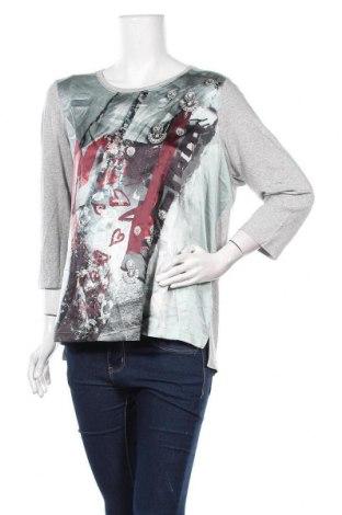 Дамска блуза La Redoute, Размер XL, Цвят Сив, Цена 16,96лв.