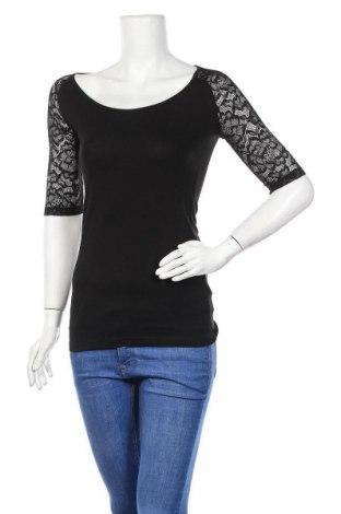 Дамска блуза Laura Scott, Размер XXS, Цвят Черен, 95% вискоза, 5% еластан, Цена 29,86лв.