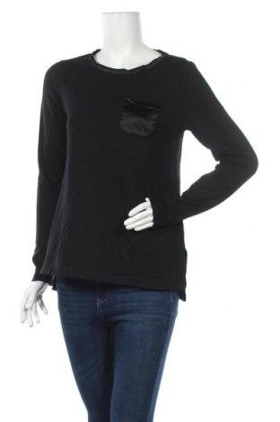 Γυναικεία μπλούζα Margittes, Μέγεθος XS, Χρώμα Μαύρο, 75% βισκόζη, 20% μοντάλ, 5% ελαστάνη, Τιμή 5,52€