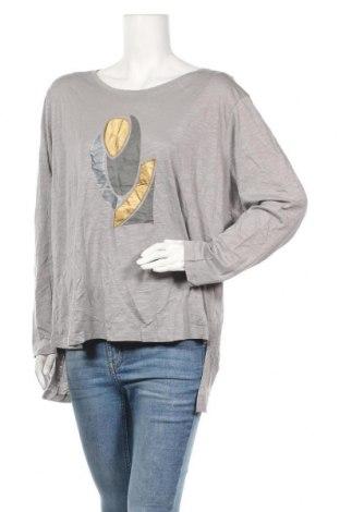 Γυναικεία μπλούζα Mark Adam, Μέγεθος XL, Χρώμα Γκρί, Τιμή 7,01€