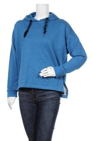 Γυναικεία μπλούζα Mark Adam, Μέγεθος XL, Χρώμα Μπλέ, 90% βαμβάκι, 10% μεταλλικά νήματα, Τιμή 8,77€