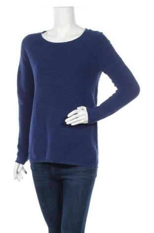 Дамска блуза Promod, Размер L, Цвят Син, Памук, Цена 17,96лв.