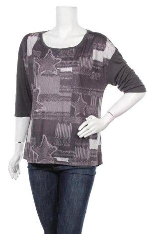 Γυναικεία μπλούζα Rainbow, Μέγεθος M, Χρώμα Γκρί, 65% πολυεστέρας, 35% βισκόζη, Τιμή 5,20€