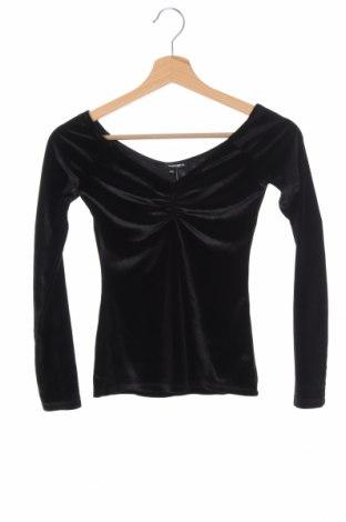 Дамска блуза Tally Weijl, Размер XXS, Цвят Черен, Цена 14,18лв.