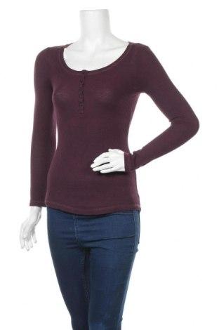 Дамска блуза Tally Weijl, Размер XS, Цвят Лилав, Памук, Цена 15,69лв.
