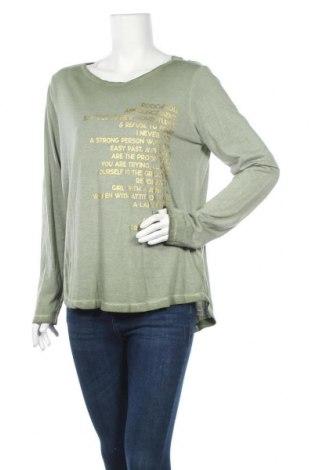 Γυναικεία μπλούζα Timezone, Μέγεθος L, Χρώμα Πράσινο, 50% βαμβάκι, 50% μοντάλ, Τιμή 9,87€