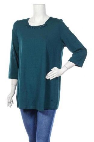 Γυναικεία μπλούζα Ulla Popken, Μέγεθος L, Χρώμα Πράσινο, Τιμή 9,55€