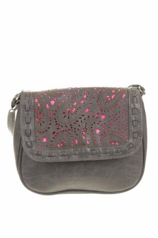 Дамска чанта, Цвят Сив, Еко кожа, Цена 10,08лв.